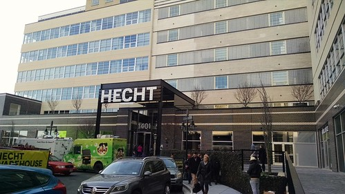 Hecht Warehouse Entrance