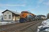 Norfolk Southern (train 21M) - Mertztown PA