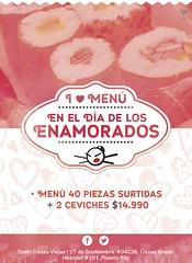 Flyer Sushi Casas Viejas