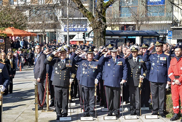 Παρουσία Αρχηγού ΓΕΕΘΑ στις Επετειακές Εκδηλώσεις για την Απελευθέρωση της Πόλης των Ιωαννίνων