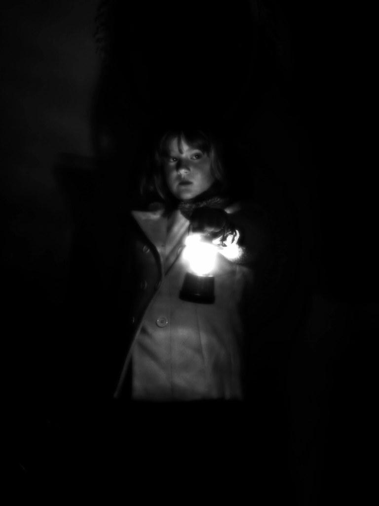 A lantern's light