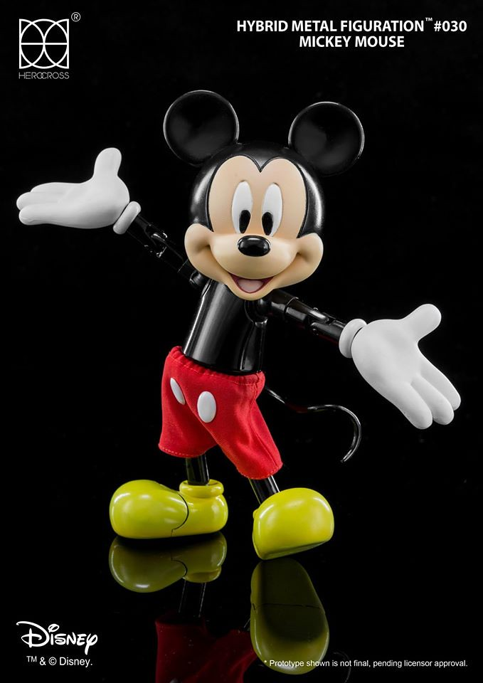 HEROCROSS【米奇】迪士尼 Mickey Mouse 永遠不老的米老鼠!!