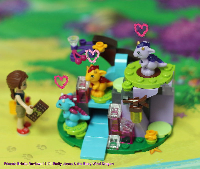 Heartlake Times: Review: 41171 Emily Jones & the Baby Wind Dragon