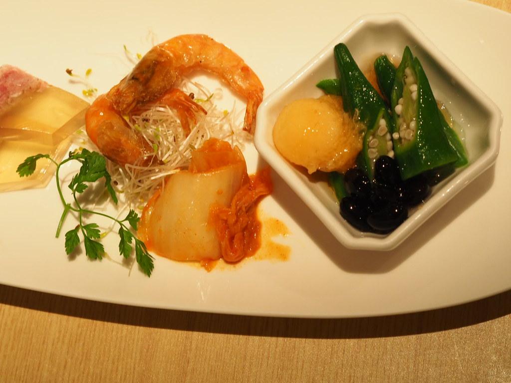 シャングリ・ラ台南 酔月楼の前菜
