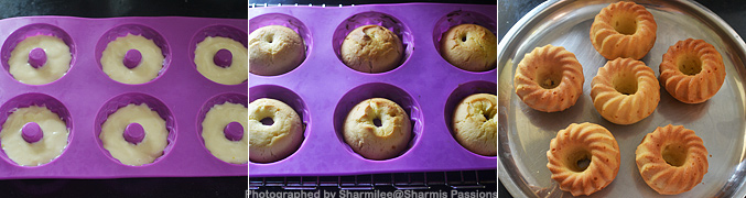 How to make Eggless Orange Mini Bundt Cake Recipe - Step5
