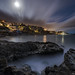 Victoria Beach Moonrise by mikeSF_