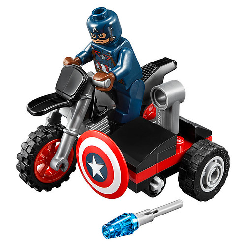 LEGO Marvel Super Heroes Captain America's Motorcycle (30447)
