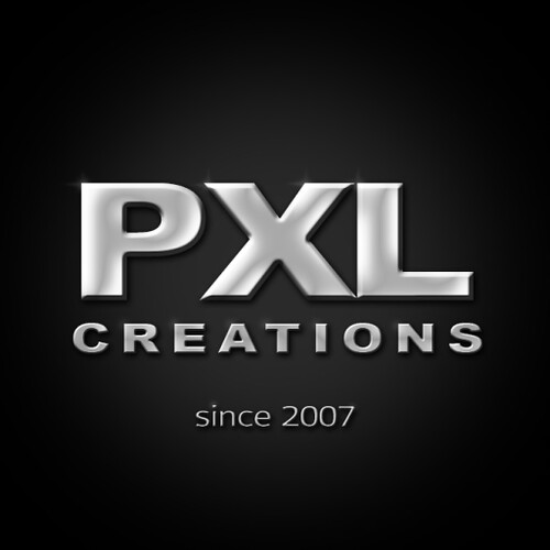 PXL creations LOGO