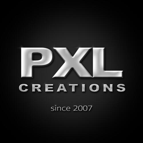PXL creations LOGO