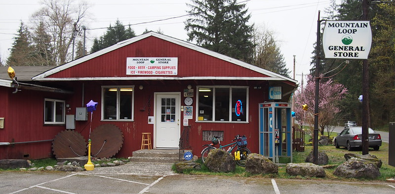 Mountain Loop General Store: This place just had its grand opening the day I was riding through,