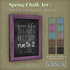 "@ The Wash ~ [CIRCA] - Spring Chalk Art - ""Your Life is an Occasion"""