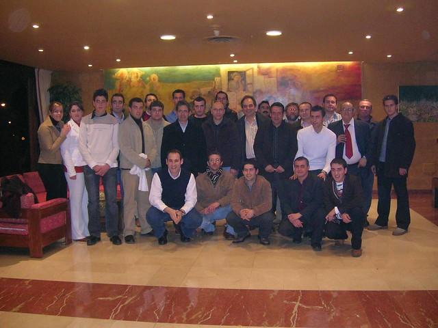 CENA SOCIOS 2003
