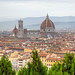 Vista panorámica de Florencia desde San Miniato al Monte by Chodaboy