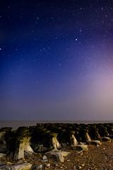Night sky Cobbold's Point