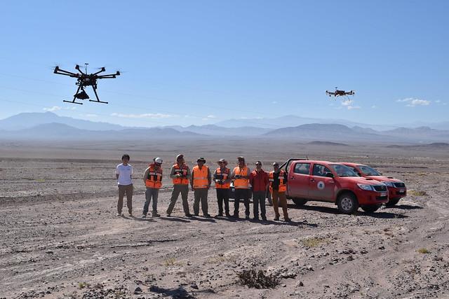 Los drones se usarán para abarcar zonas mineras más extensas y de difícil acceso