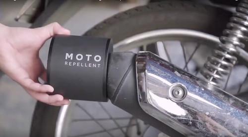 Repelentes para motos