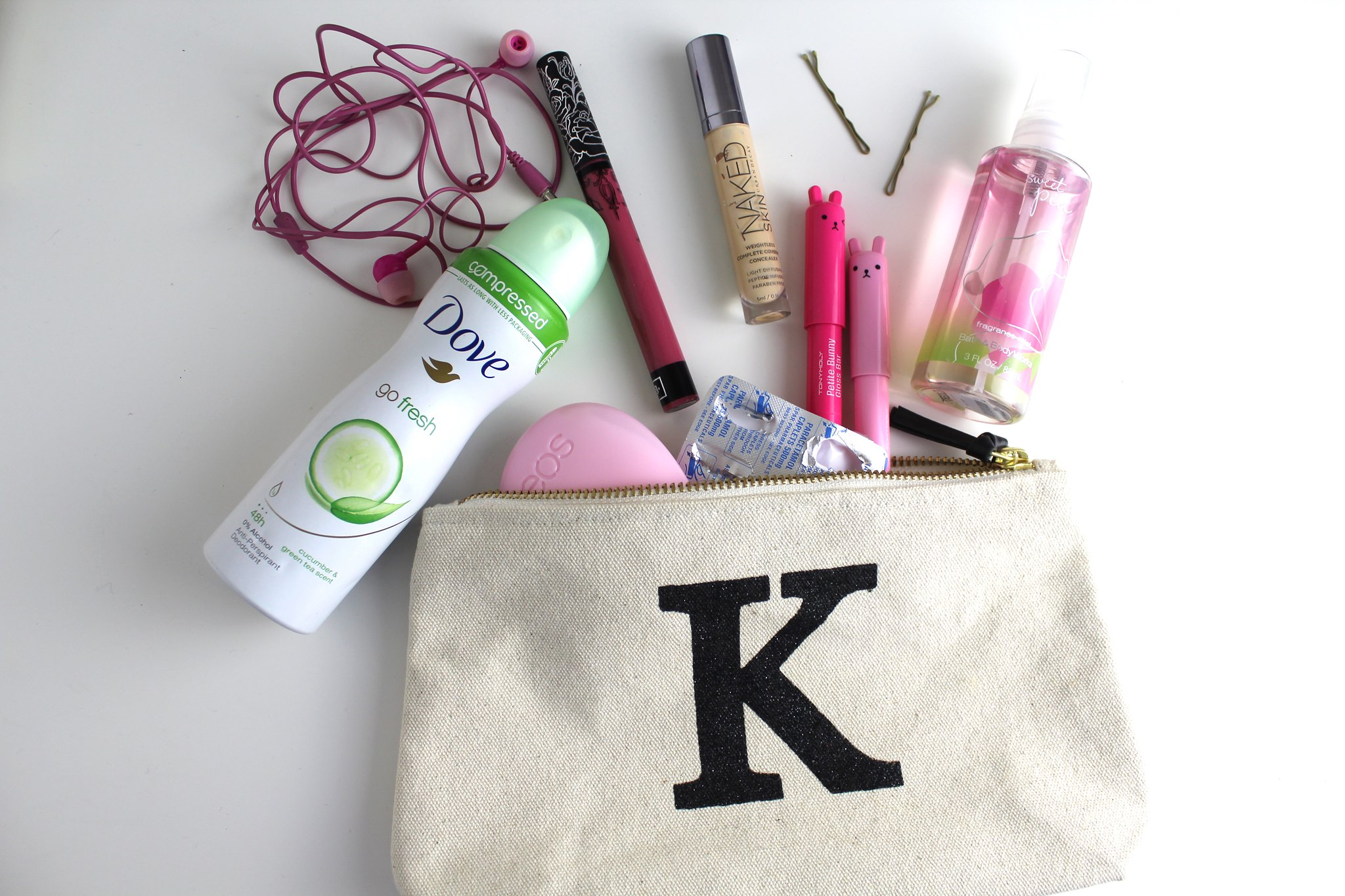Beauty Bag Spill