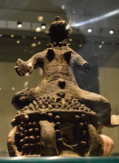 pottery roof finial, Gwarin-Genge people, Nigeria