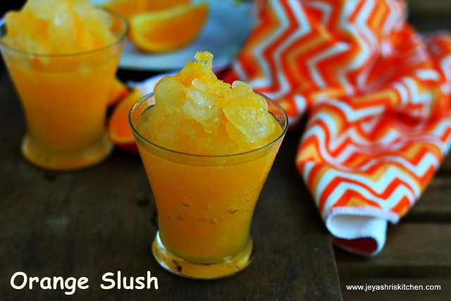 how to make a quick slushie