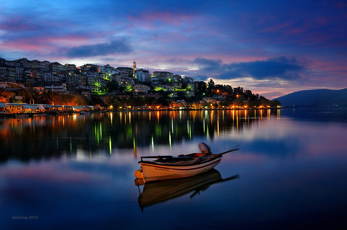 clouds dawn boat greece timeless macedonian kastoria makedonia μακεδονια macedoniagreece