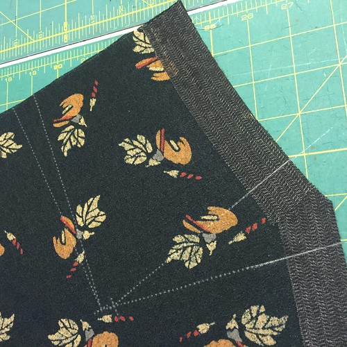 Tea & Crumpet Sew-Along: Constructing The Skirt & Sleeves