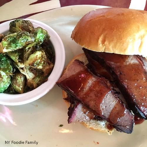Brother Jimmy's Beef Brisket Sandwich