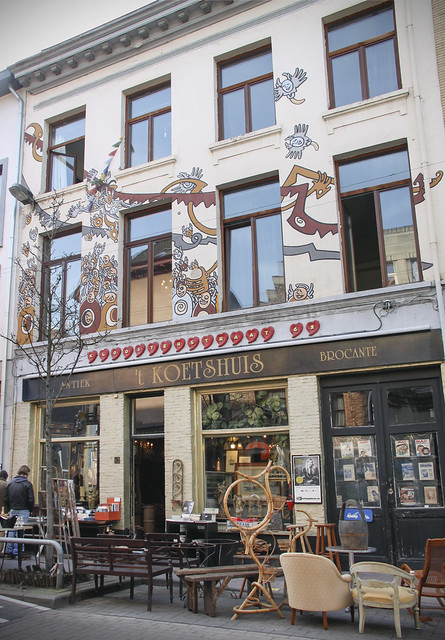 Antwerp - shops