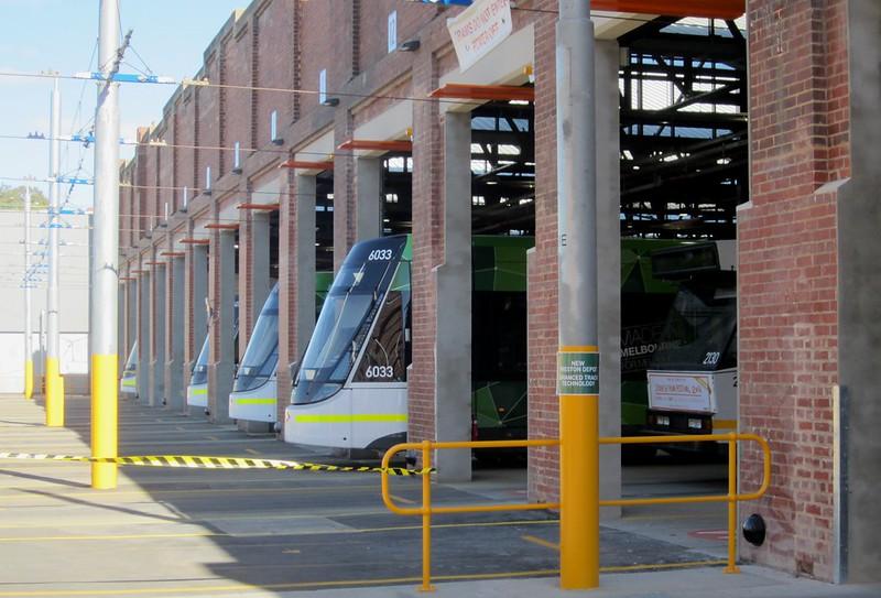 Preston tram depot