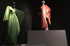 De Young Museum - Oscar de la Renta Spring 74 evening dresses