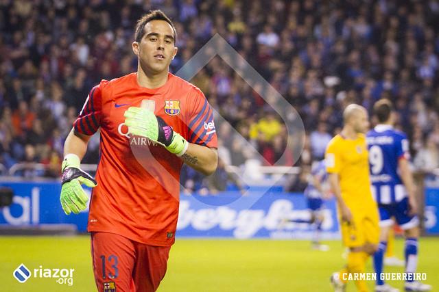 Liga BBVA. Jornada 34ª. Deportivo 0 - Barcelona 8