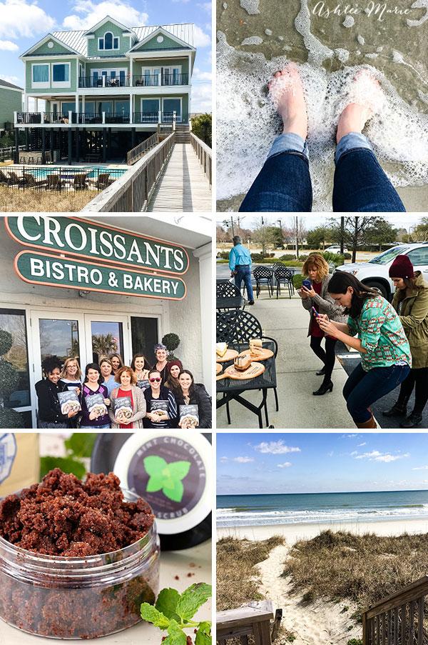 blog n bake retreat activities