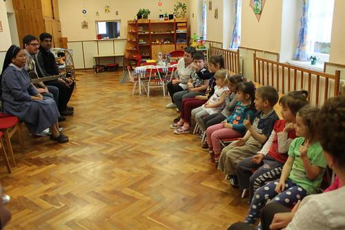 08.sr. Blandina,SSpS a spolubratia SVD so škôlkármi