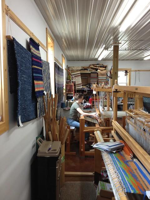 V weaving