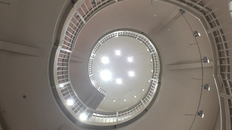 a spiraling moment at the new ov work digs.