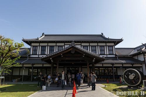 Kyoto Railway Museum (87) former station building of Nijo Station