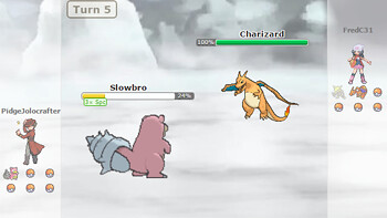Pokémon Showdown: Charizard vs Slowbro