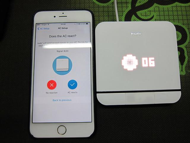 tado Smart AC Control - Sending Test Signals