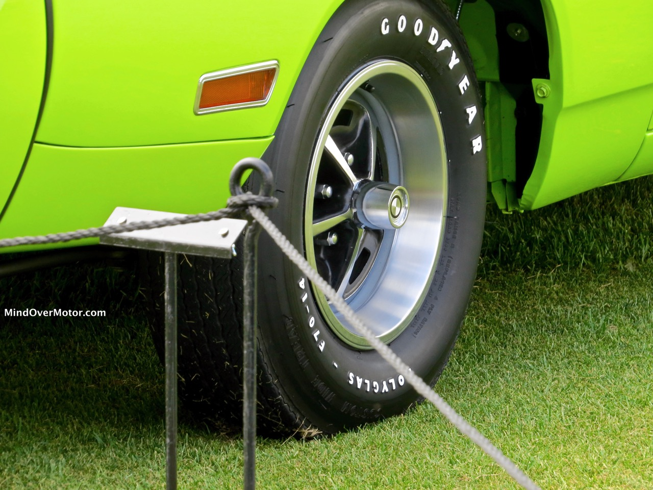 1970 Plymouth Superbird Front Tire