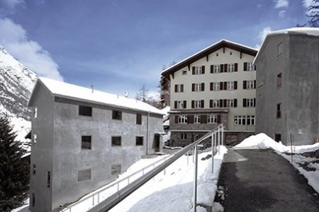 Swiss Youth Hostel - dostupně bydlet lze i v Zermattu