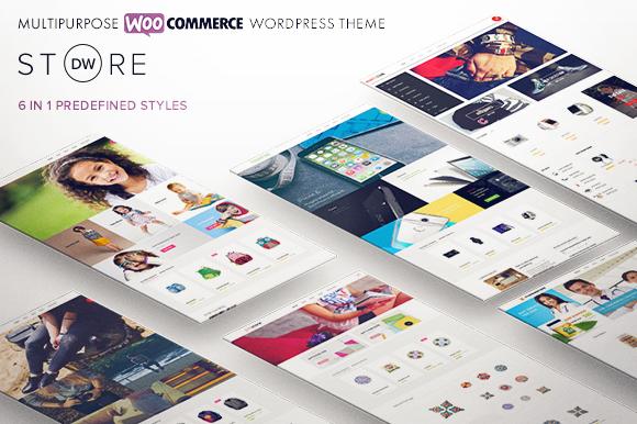 Creativemarket DW Store v1.0 – Multipurpose WooCommerce