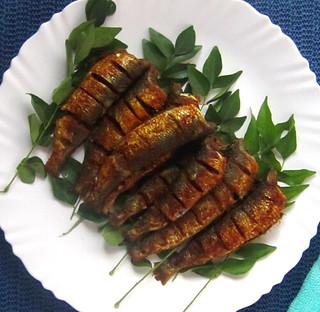 Mathi / Chaala / Sardine fish fry
