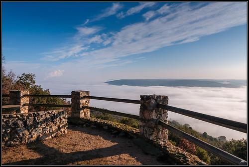 Mar de Niebla sobre Entrepeñas