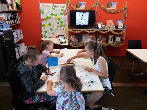 Maker space at Parklands Library