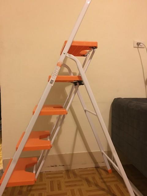 梯身側面照@TRENY五階工作梯