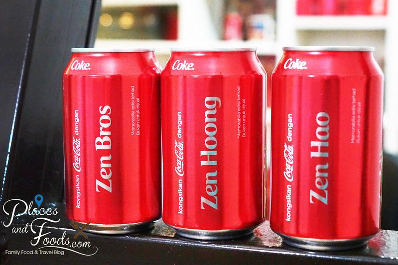 coke malaysia 2015 zen brothers set
