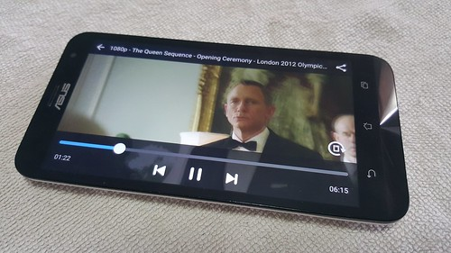 ดูหนัง 1080p บน ASUS ZenFone 2 Laser