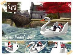 Swan Paddle Boat CHEZ MOI