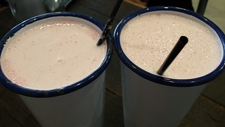 Strawberry Coconut Milkshakes from Soul Burger
