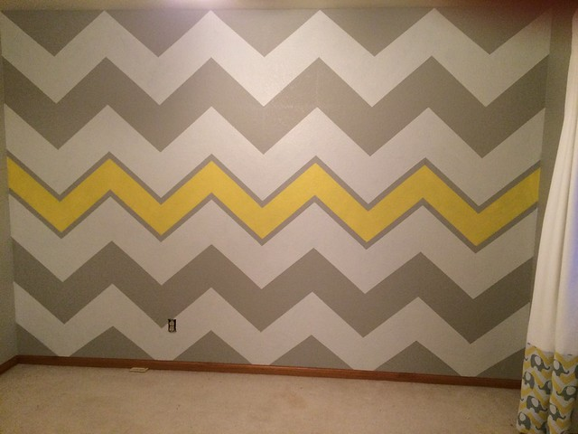 My first Chevron Wall!