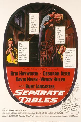 Separate Tables - Poster 1